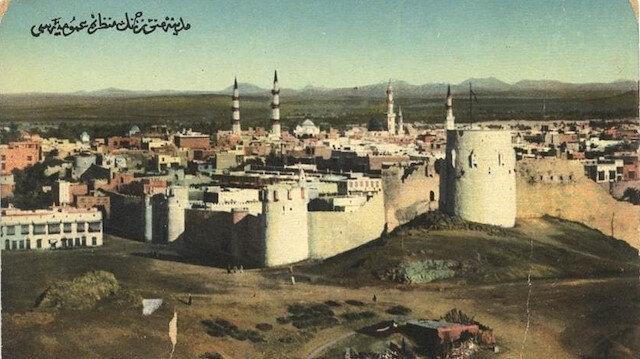 Peygamber şehri, hicret yurdunun tarihi fotoğrafları