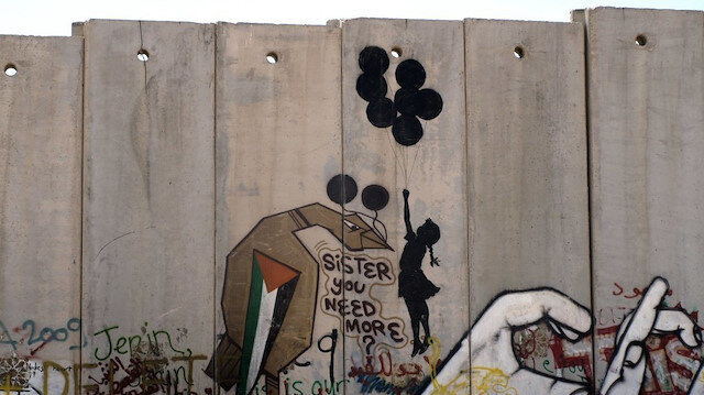 Filistin sokaklarındaki sanatçı: Banksy