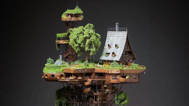 2 yılda tamamlanan minyatür bir köy