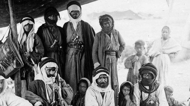 Çölün göçebe sakinleri Bedevilerin 123 yıl önce çekilen fotoğrafları
