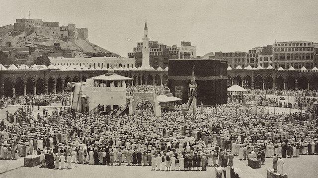 Peygamber diyarı Mekke ve Medine'nin tarihî fotoğrafları