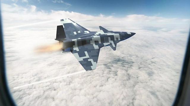 Baykar insansız savaş uçağı tasarım görsellerini paylaştı
