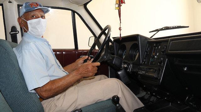40 yıllık Anadol'a gözü gibi bakıyor: Henüz kilometresi 43 binde