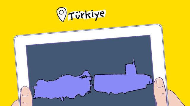 Ülke haritaları neye benziyor diye araştırdık sonuç ortada 🙄