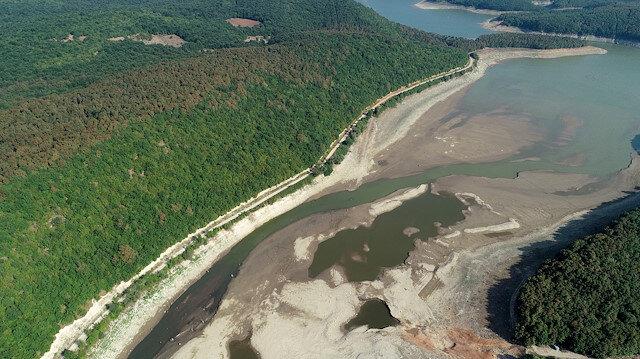 İstanbul'a su sağlayan barajların seviyesi yüzde 58'e geriledi