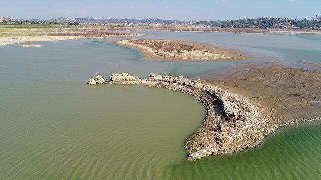 Sular çekildi: Antik Kent gün yüzüne çıktı
