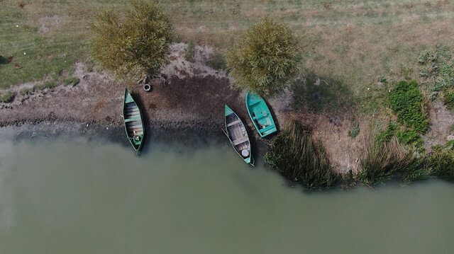 Balık ve kuşların yaşam merkeziydi: 136 kilometrekarelik göl tehlike altında