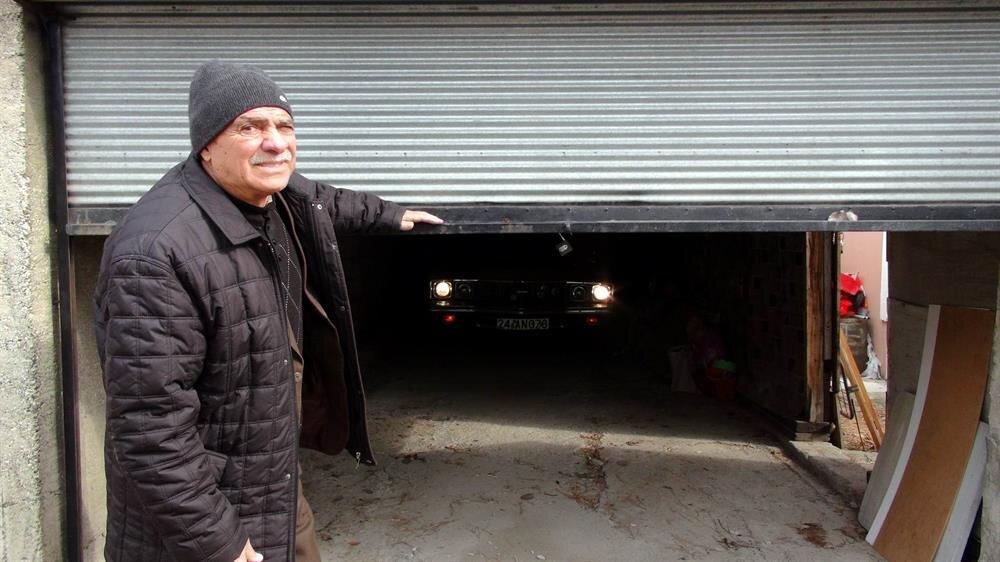 ANAP seçimi kaybedince garaja koyduğu aracını 22 yıl sonra ortaya çıkardı