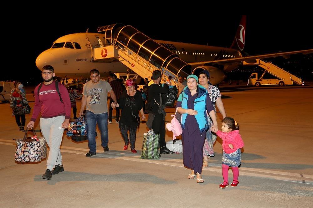 2 bin Ahıska Türkünün ardından beşinci kafilede Erzincan'da