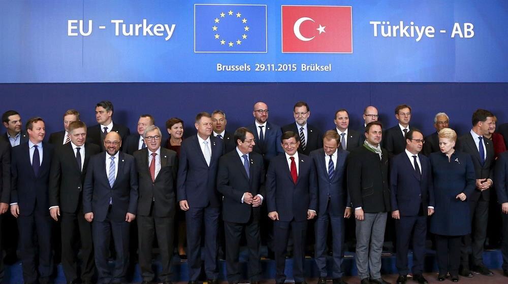 Üyelerine söz geçiremeyen Avrupa Birliği'nin mülteciler hakkında tutmadığı sözler