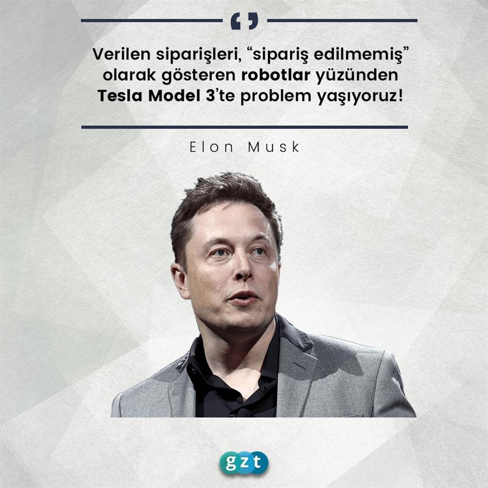 Elon Musk, Tesla Model 3 siparişleri hakkında konuştu
