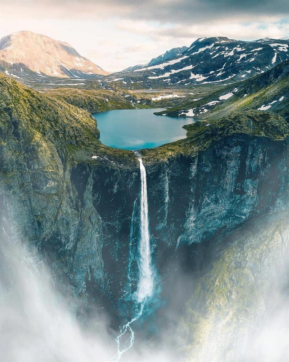 Mardalsfossen Şelalesi, Norveç
