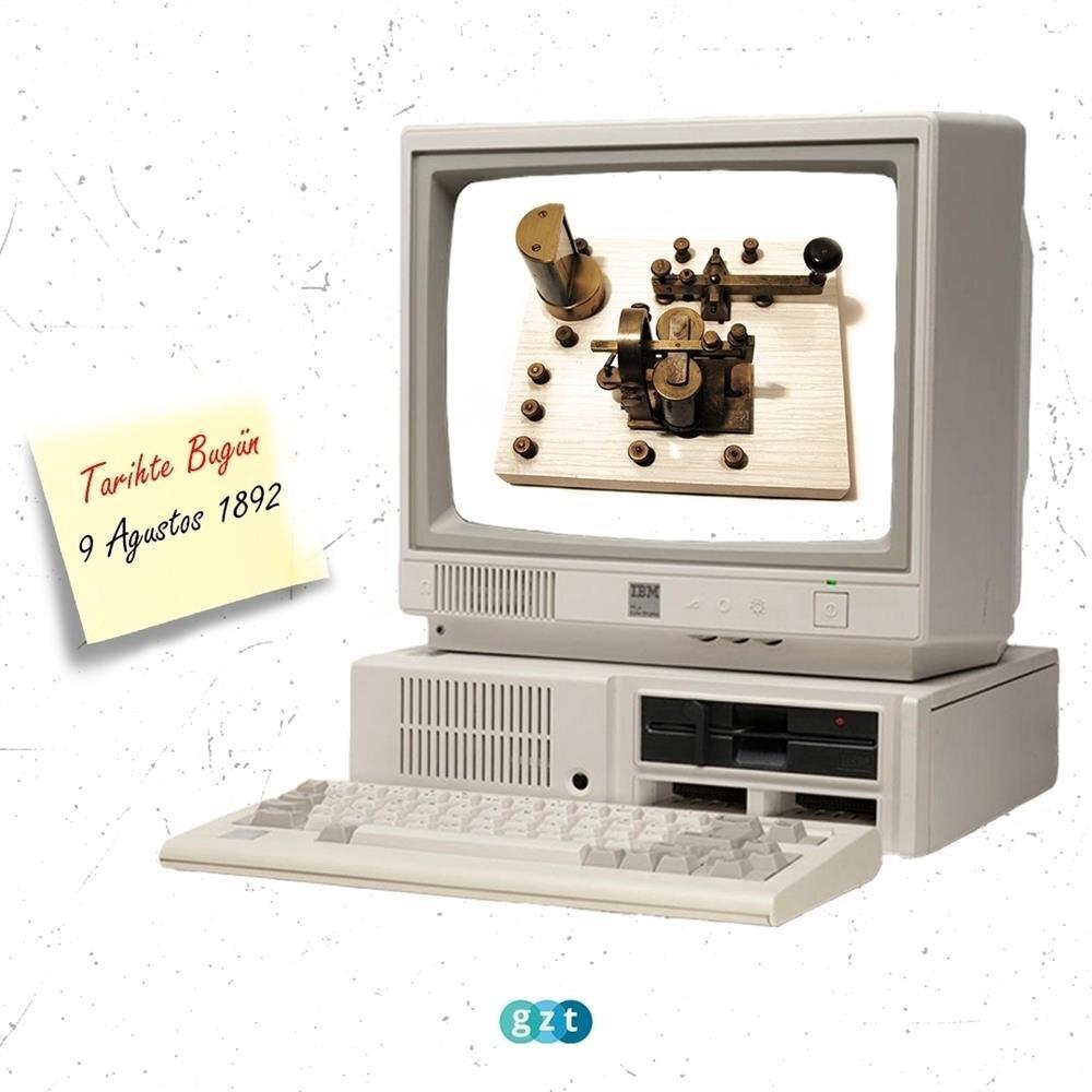 Çift yönlü telgrafın patenti alındı